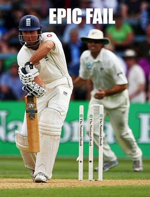 All aboard the fail boat! | Suave's Republique Cricket