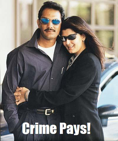 Crime does pay after all!