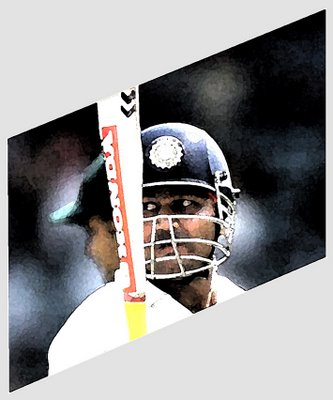 Image snaffled from the wonderful Cricket=Action=Art