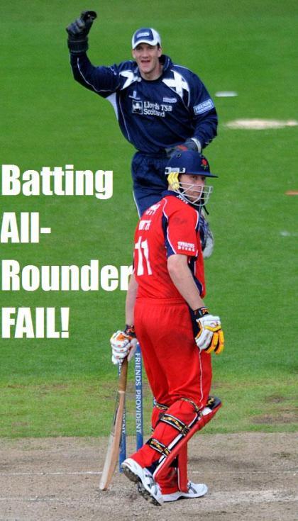 Fail | Suave's Republique Cricket