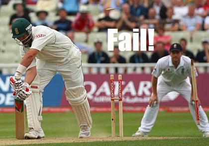 A Fail just for King Cricket!